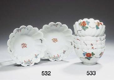 (5) A set of five Japanese Ari