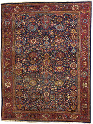An Antique Sultanabed carpet