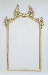 A German giltwood frame