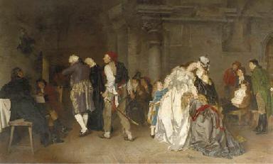 Abschied Ludwigs XVI. von sein