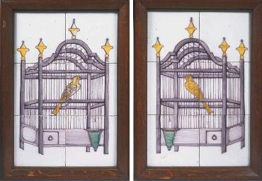 (2) A pair of mirroring Utrech