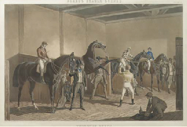 Fores's Stable Scenes: The Hun