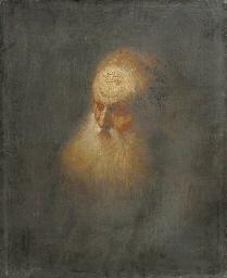 A Tronie: a bearded old man