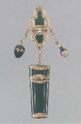 A gilt-metal mounted enamel sn