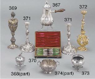 A 19th century Italian silver