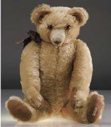A Chad Valley teddy bear