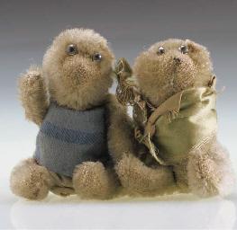 A British 'Soldier' teddy bear