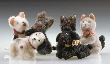 Schuco Noah's Ark Dogs and Cat