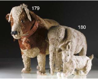 A Steiff Cow