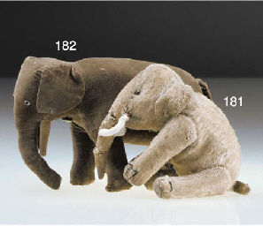 An early Chad Valley elephant
