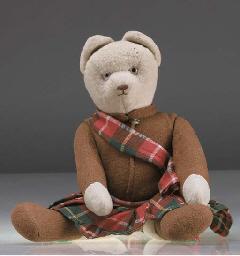 An unusual French teddy bear