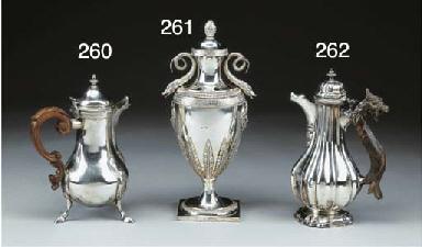 Vaso brucia profumi in argento