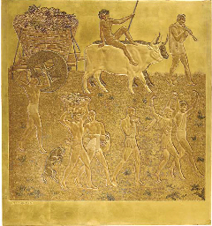 'GRAPE HARVESTING', A GOLD LAC