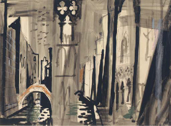 Study for 'Death in Venice'