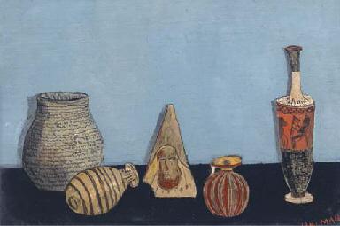 Still life with Greek Vase