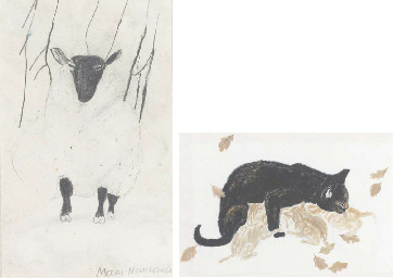 Standing Sheep; and two furthe