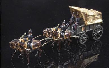 A Britains set 145 Royal Army
