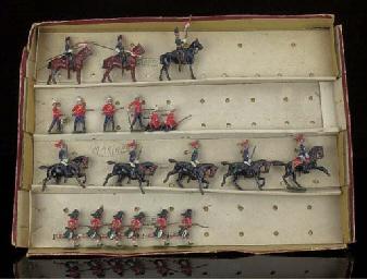 A Britains set 22 British Army