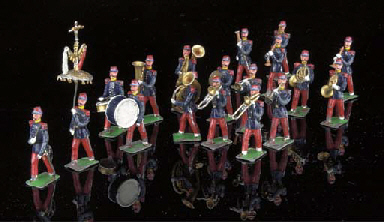 Heyde 48mm. scale French Band