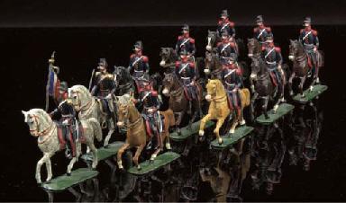 Noris 54mm French Cavalry