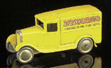 A pre-war Dinky lead 28n 'Mecc