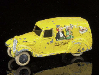 A pre-war Dinky 2nd type 280d