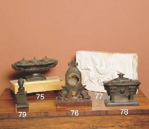 A GEORGE III WHITE MARBLE TABL