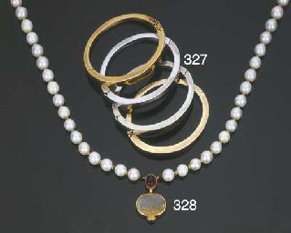 Collana in perle coltivate, op