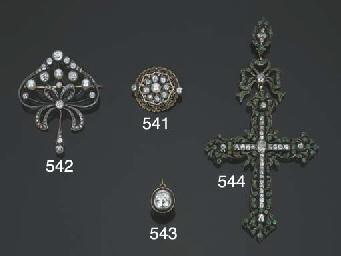 Orecchino singolo in argento e