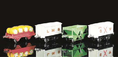 Hornby Series Goods Wagons and
