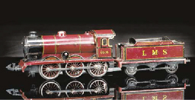 A Bing clockwork 0-6-0 LMS Goo