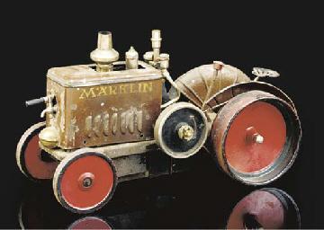 A Märklin Steam Tractor 4086