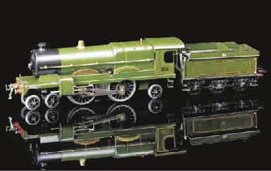 A Hornby Series 3C clockwork C