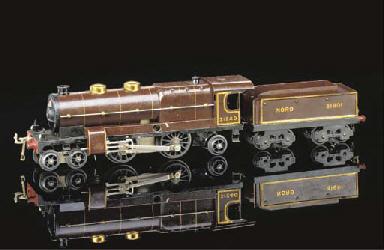 A Hornby Series No. 3 Clockwor