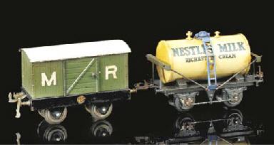 Ten Hornby Series two-axle goo