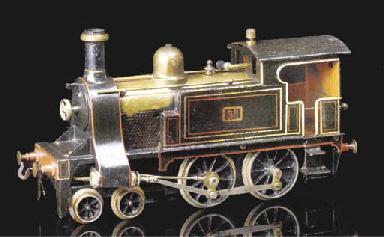 A Bing Gauge II spirit-fired s