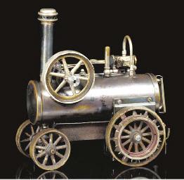 A Carette spirit-fired steam p