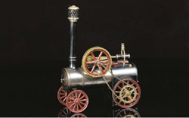 A Bing spirit-fired steam port