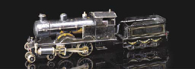 A Märklin spirit-fired steam 4