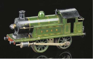 A Märklin 4 Volt electric LNER