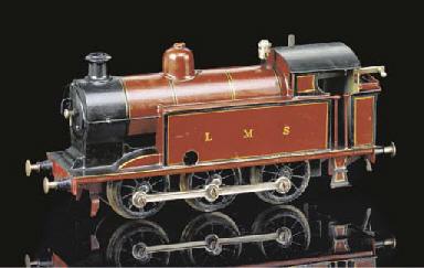 A Märklin Clockwork LMS 0-6-0