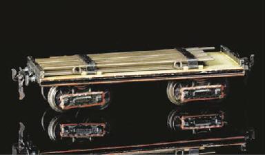 An early Märklin 26cm. four-ax