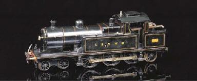 A Märklin Clockwork 4-6-2 (2 C