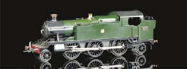 A Bassett-Lowke electric 2-6-2