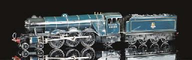 A Bassett-Lowke Blue BR 4-6-2
