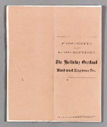 HOLLADAY, Benjamin (1819-1887)