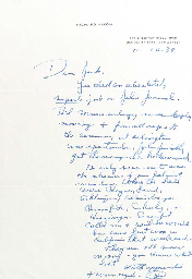 NIXON, Richard M. (1913-1994), President . Autograph letter signed (
