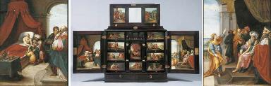 A 17th Century Antwerp gilt-me