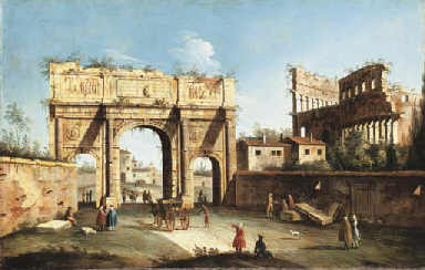 The Arch of Constantine and th