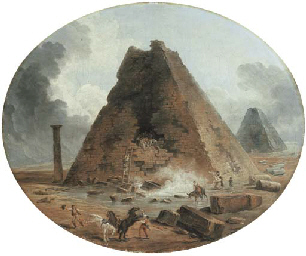 The sack of two pyramids